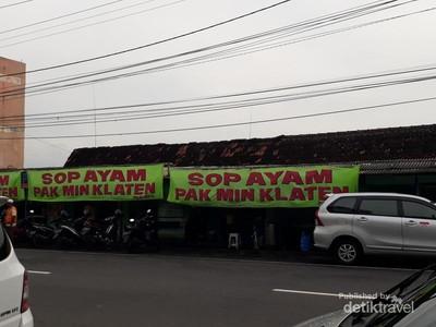 Sop Ayam Pak Min, Wisata Kuliner Legenda di Yogya