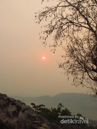 Tempat favorit melihat sunset di Luang Prabang