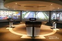 Ruang media audio visual tentang sejarah kota yang interaktif dan canggih