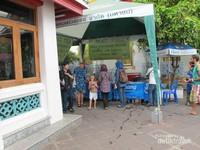 Untuk wisatawan akan mendapat air minum gratis