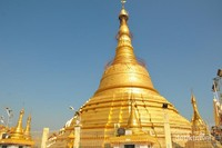 Pagoda utama di Botataung Pagoda