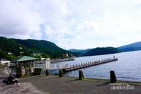 Suasana Sejuk di Lake Ashinoko.