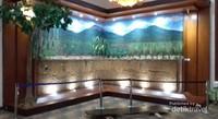 Ruangan display ekosistem tanah