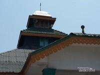 Atap mahligah yang khas Melayu Serdang