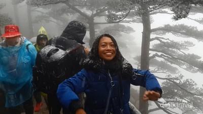 Musim Salju di China, Mirip Negeri Dongeng
