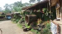 Inilah rumah hobbit utama yang bagian dalamnya sangat mengagumkan