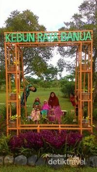 Bingkai foto Kebun Raya Banua