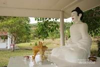 Patung Buddha yang ada di Pagoda Chua Ky Vien