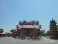 Vihara Siu San Keng masih dalam fase renovasi