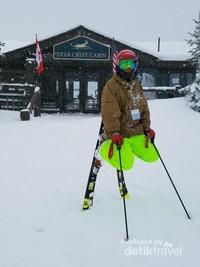 Bergaya sebelum ski