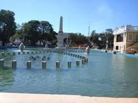 Plaza Salcedo, tempat bersantai sekaligus bersejarah bagi masyarakat Vigan