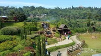 Pemandangan The Ranch, Cipayung, Bogor