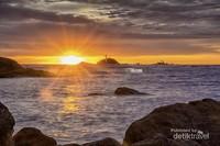 Masih sunset di Pulau Tukong Kik May