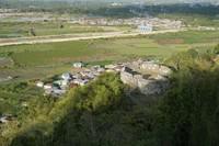 Benteng Ulupahu dilihat dari atas bukit Benteng Otanaha