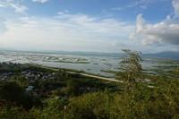 Pemandangan dari atas Benteng Otanaha
