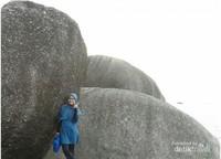 Uji adrenalin denganmanjat batu dan melihat pemandangan dari atas