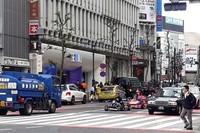 Jalur penyebrangan yang sangat terkenal di Jepang