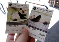 Tiket masuk kebun binatang