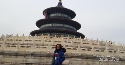 Megahnya Kuil Surga di China Juga Kawasan Terhijau