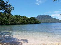Pantai Sulamadaha, spot snorking favo   rit di Ternate