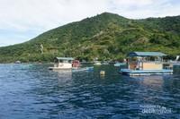 Taman laut Olele yang terletak di Kabupaten Bone Bolango, yang tidak kalah dengan Bunaken