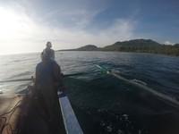 Harus menggunakan perahu jika ingin melompat dari Tanjung Gaang
