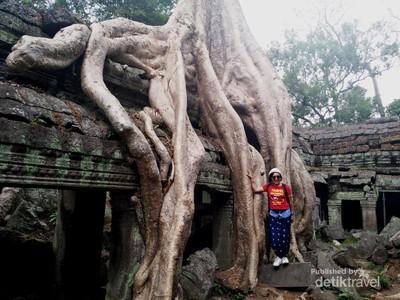 Cantiknya Candi di Kamboja Tempat Syuting Tomb Raider