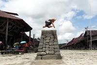 Lompat batu yang berawal dari seleksi untuk mengikuti perang antar wilayah.