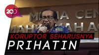 Artidjo: Koruptor Cengengesan di TV Itu Hina Rakyat Indonesia!