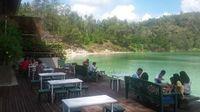 Danau Linow, dana   u cantik yang bisa berubah warna