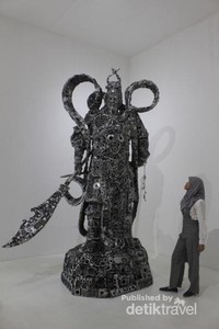 Salah satu karya seni yang ada di pameran Artjog