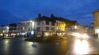 Jalanan Stratford Upon Avon di waktu malam
