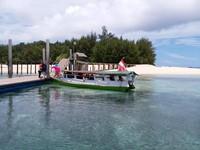 Pulau Saronde di Gorontalo Utara memiliki pantai yang sangat indah