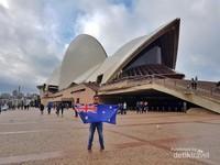 Jika New York punya Patung Liberty, Sydney punya Sydney Opera House