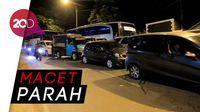 Malam H+2 Lebaran, Jalur Nagreg ke Bandung Padat