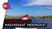 Indonesia Peringkat 9 Negara Teraman di Dunia