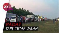 Waspada, Cipali Arah Jakarta terjadi Kepadatan di Rest Area