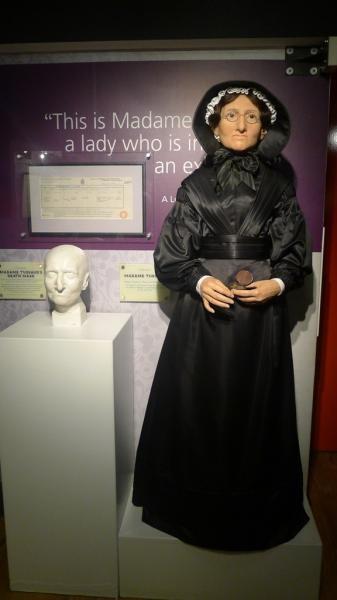 Marie Tussaud, pematung lilin yang pertama kali mendirikan museum Madam Tussaud