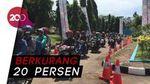 Alhamdulillah, Pemudik dan Kecelakaan Roda Dua Menurun