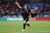 Aksi Modric yang Repotkan Pertahanan Argentina