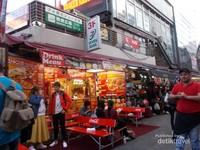 Salah satu tempat makan halal yang ada disini
