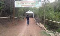 Pintu masuk mangrove Donggala