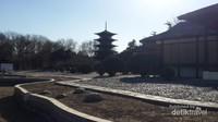 Katsura Imperial Villa,Kyoto, Jepang. Merupakan salah satu kekayaan budaya paling penting di Jepang.