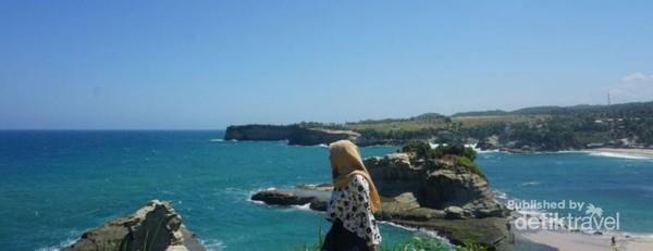 Panorama di Pantai Klayar