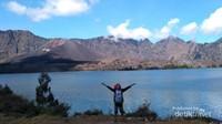 Sungguh indah Gunung Rinjani dan seisinya