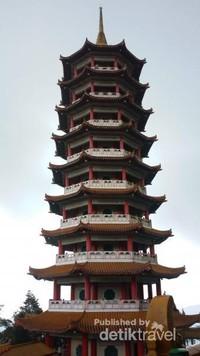 Pagoda cantik di Genting, Malaysia