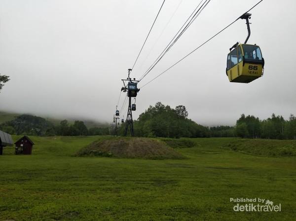 Gondola menuju Unkai Terrace