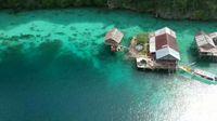 Laut yang amat jernih di Pulau Labengki