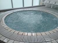Kolam Jacuzzi untuk berendam buat para Pengunjung.