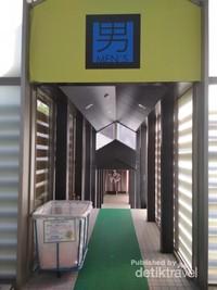 Sauna untuk pria dan wanita yang dipisah tersedia juga disini loh.